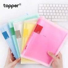 Цветная матовая папка для книг формата А5, прозрачная карманная папка для хранения офисной бумаги, 10, 20, 30, 40, 60 страниц