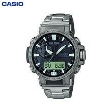 Наручные часы Casio PRW-60T-7AER мужские кварцевые на браслете