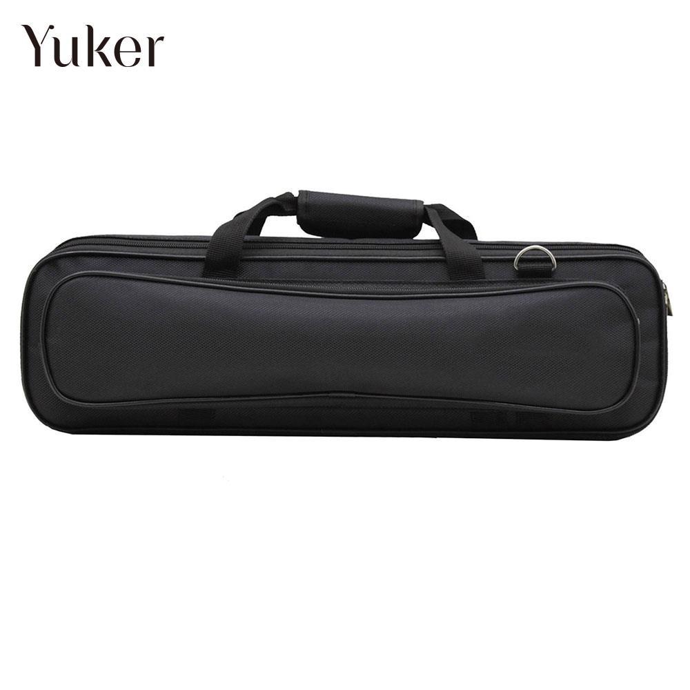 Oxford Multi Pocket Protec Flute Case Musical Instruments Protec Flute Bag Storage Bag Protec Flute Cover Durable