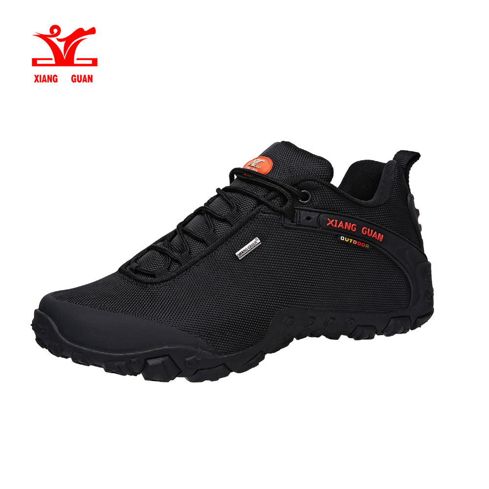 XIANG GUAN Men's Oxford Low top Outdoor Water-resistant Trail Hiking Shoes