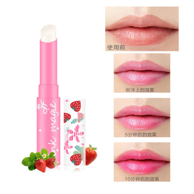 Sexy Pink Levre Lip Balm Moisturizer Nutritious Protection Lips Makeup Easy Wear Lipbalm Long-lasting Lipstick Beauty Cosmetics