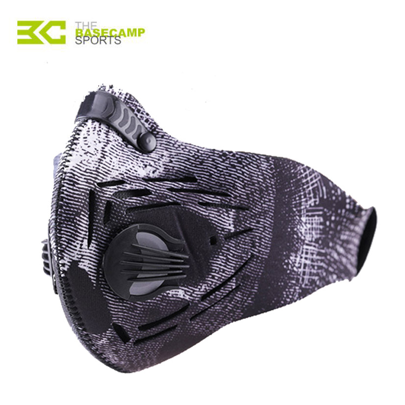 BASECAMP Anti Pollution Riding Cycling Face Mask Dust Sports Mouth Muffle Dustproof Bicycle Masks Mountain Road Bike Face Cover