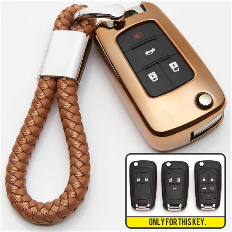 Для Chevrolet Cruze 2013 Lova заднее Защитное Резиновое покрытие бампера для sail Aveo TRAX Spark Orlando Onix Volvo Camaro Malibu Chevy Equinox TPU автомобильный чехол для ключей держатель