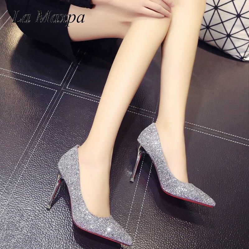 Bling Talons khaki Nouveau Pompes Sexy blue Zapatos Sandales Mode 2018 Mujer Femme La Haute Gray Femmes Maxpa Nu Chaussures De Mariage Pantoufle zw0nqER