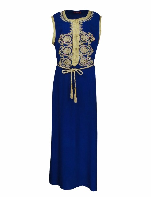 New Women's Maxi Muslim Long Dubai Dress Moroccan Kaftan Caftan ,Turkish Middle East Arab