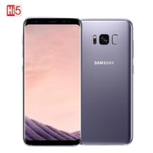 Оригинальный Samsung Galaxy S8 5.8inch 4GB RAM 64GB ROM Двойной Sim Snapdragon 835 Octa Core Android 7.0 Смартфон для смартфонов 3000mAh