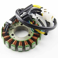 Motorcycle Ignition Magneto Stator Coil for SUZUKI GN250 32101 38302 Magneto Engine Stator Generator Coil