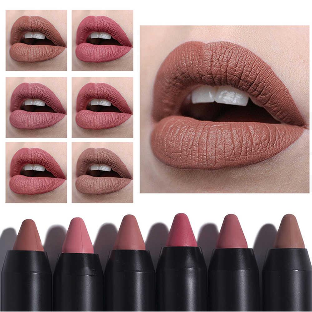 29d0687648 Detail Feedback Questions about Beauty Matte Lipsticks Moisturizing Lip  Gloss Rouge Long Lasting Waterproof Lipstick Moisturizer Makeup Cosmetics  Random ...