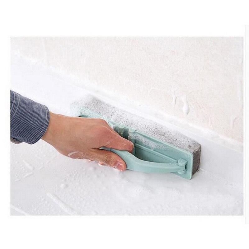 Newest Folding Bathroom Sponge Bathtub Brush Window Glass Cleaner For Washing Windows Kitchen Wall Home Cleaning Tool 1Pcs