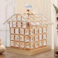 Free Shipping Fashion Crystal Table Lamp Luxury House Crystal Table Lamp For Bedroom Lobby Table Lamp