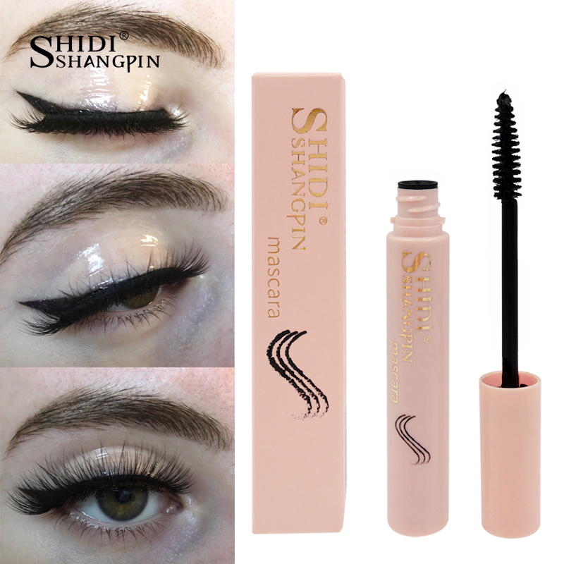 new makeup 4D Silk Fiber Lash Mascara Waterproof Rimel Mascara Eyelash Extension Black Thick Lengthening Eye Lashes Cosmetics image