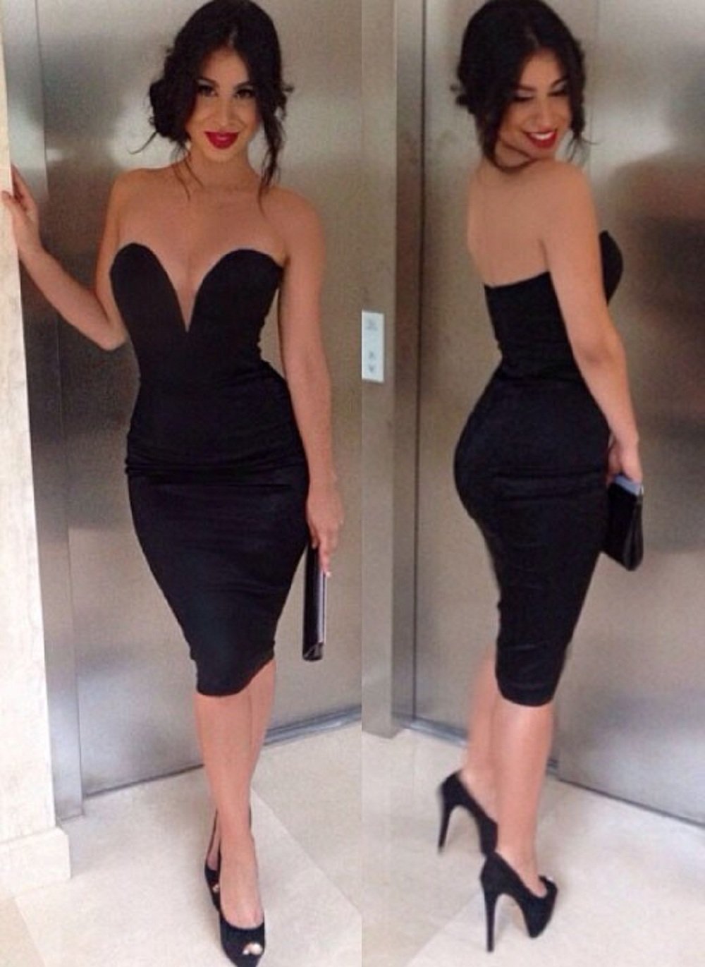 Popular Strapless Pencil Dress-Buy Cheap Strapless Pencil Dress ...