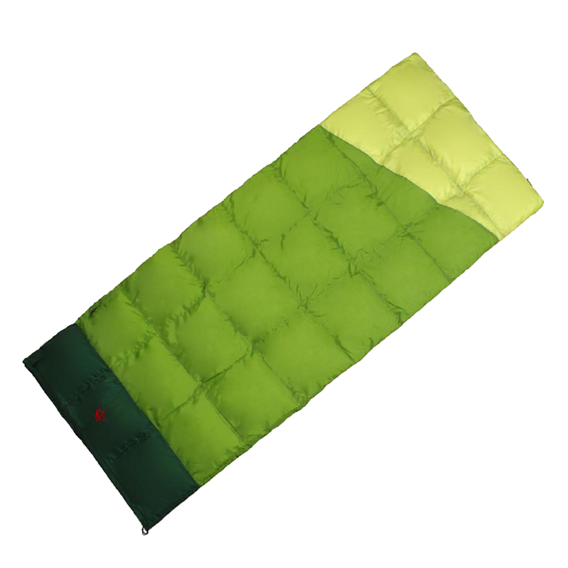 Super lightweight Outdoor Envelope Duck Down Sleeping Bag Ultralight Portable 3 Season Camping Sleeping bags