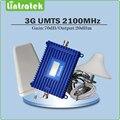Полный Набор 3 Г сотовый телефон усилитель сигнала 3 Г UMTS WCDMA 2100 мГц сигнал повторителя усилитель с Коэффициентом Усиления дб ЖК-дисплей