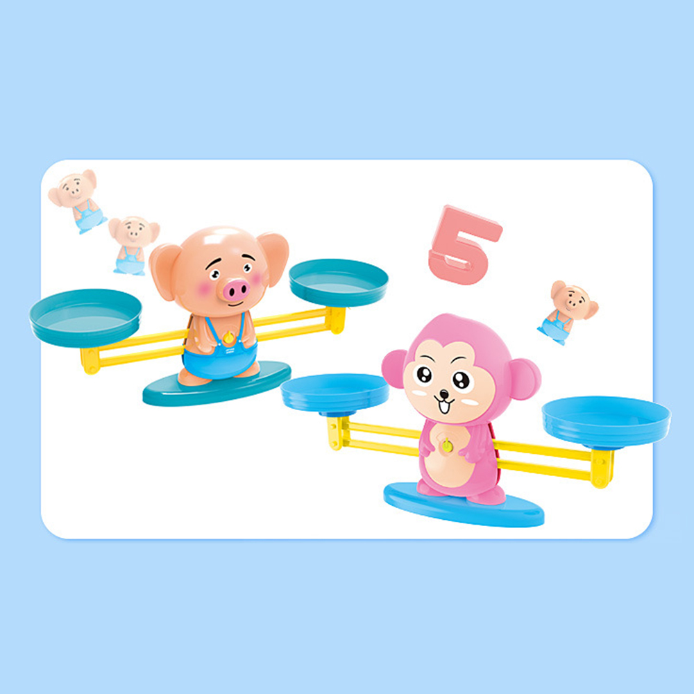 Toys & Hobbies Educational Math Match Game Board Toys Monkey Cat Match Balancing Scale Number Balance Game Kids Toy To Learn Add And Subtract Math Toys