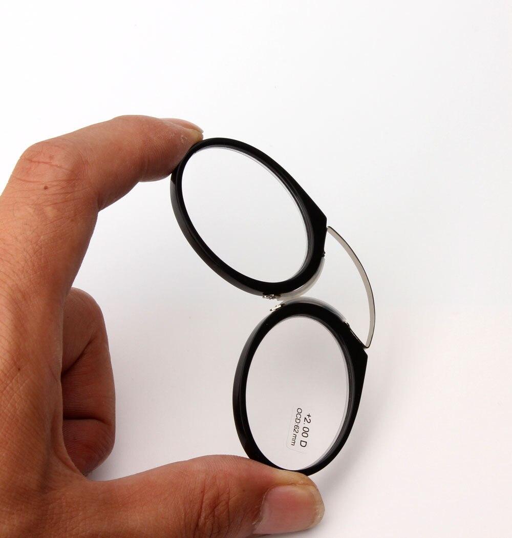 Portabel Klip hidung kacamata presbyopic Dompet Kacamata Baca dengan - Aksesori pakaian - Foto 3