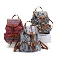 BOHO Gypsy Backpack Women Bohemian mochila de mujer Travel Backpack Ethnic Hippie Mummy Diaper Bag Girls School Bag