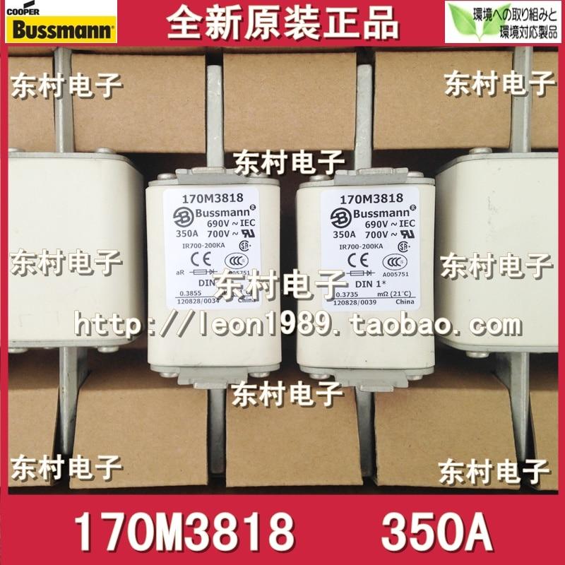 цена на US BUSSMANN fuse 170M3818 170M3818D 350A 690V / 700V fuse