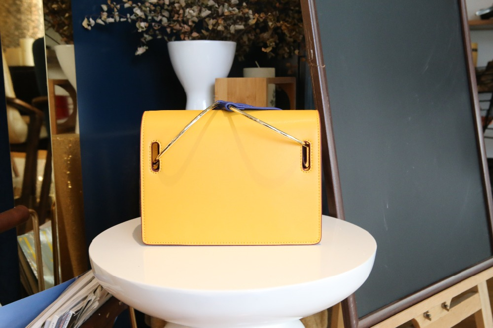 2017 new arrival women circular metal ring handbag luxury brand famous designer Female Shoulder Messenger crossbody bag