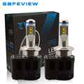 P6 Auto parts car motorcycle Lamp D2S D2R D1S D3S D4S Headlight LED Bulb 10400LM 6000K with MZ LED CHIP