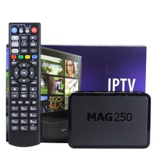 Anewkodi Meilleur Linux Mag250 Boîte IPTV Set Top Box Support USB WiFi IPTV Compte Suède France ROYAUME-UNI Arabe Mag 250 Media Player