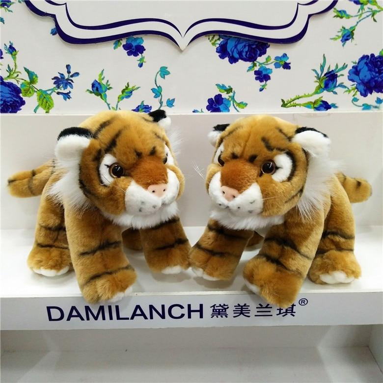 Super Cute Cartoon Tiger Plush Animal Toys Tiger Stuffed High Quality Dolls Soft Animal Toys Gift For Kids