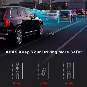 Image 3 - E ACE E14 voiture DVRs 4G Android 8.0 pouces Dash Cam 1080P enregistreur vidéo GPS Navigation ADAS Dashcam avec caméra de vue arrière Dvr automatique