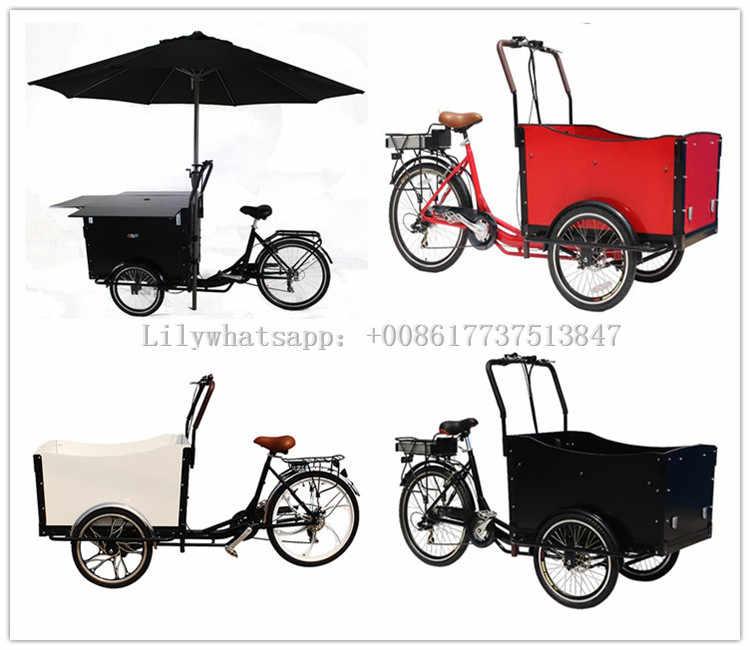 ホット販売ペダル高速食品バイク携帯トライクキャリー子供トラック貨物三輪車