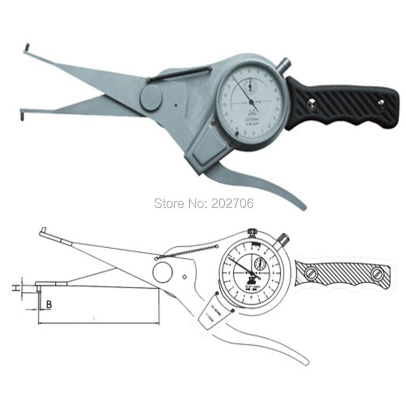 40-60 мм Внутренний кронциркуль калибровочный индикатор для внутреннего измерения толщиномер