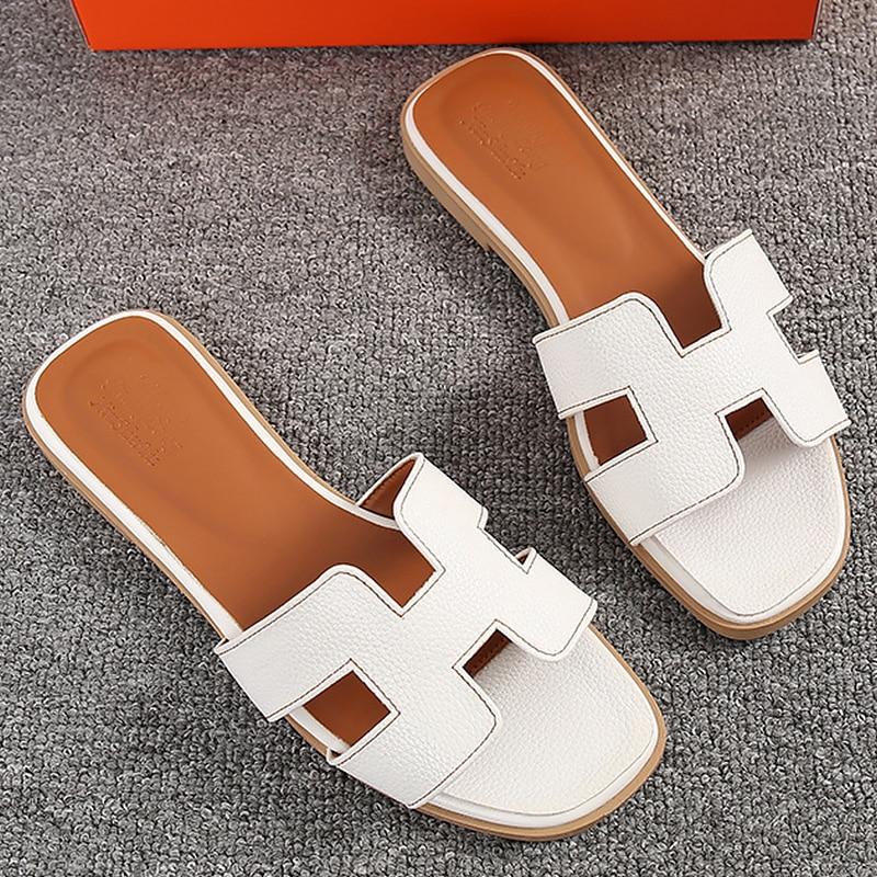 2019 Mode Plus Größe 40-43 Flache Schuhe Frauen Sandalen Hausschuhe Sommer Strand Schuhe Kristall Bunte Schuhe Außerhalb Nicht Slip Sandale