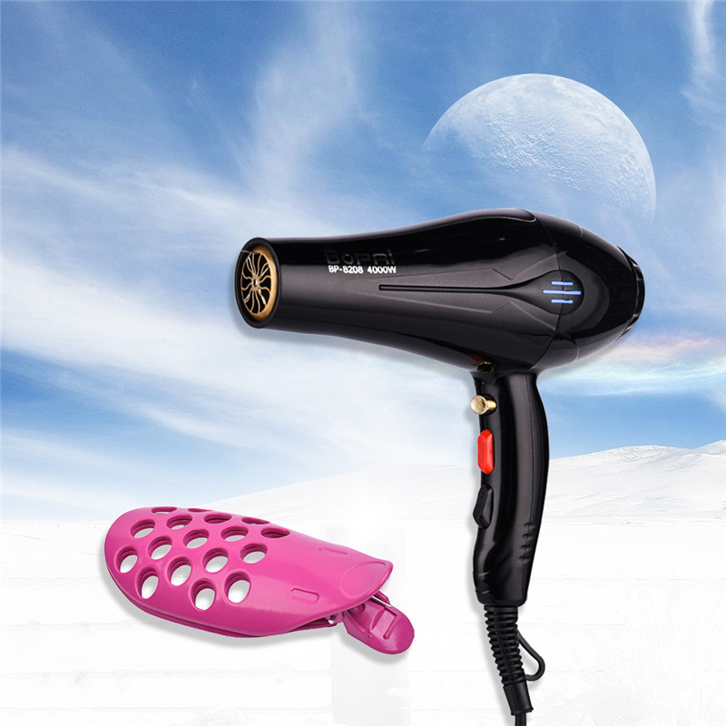 Salon Styling Tool 4000W Hair Dryer Home Portable Professional Hair Blower Dryer Bolw Hair Fringe Clip Bangs Front Curler Roller ship from usa portable height adjustable shampoo basin hair bowl salon treatment tool