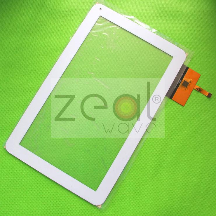 White 10.1 inch Tablet Touch Screen For AD-C-100050-1-FPC 141-C Panel Glass Digitizer Replacement Free Shipping black capacitive touch screen digitizer glass 9 7 inch tablet touch panel replacement ad c 971242 fpc free shipping