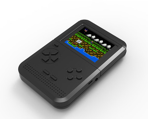 Image 2 - Mini FC nostaljik çocuk oyun makinesi Tetris oyun makinesi dahili 300 elde kullanılır oyun konsolu PSP el