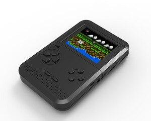 Image 2 - 미니 fc 향수 어린이 게임기 테트리스 게임기 내장 300 휴대용 게임 콘솔 psp 핸드 헬드
