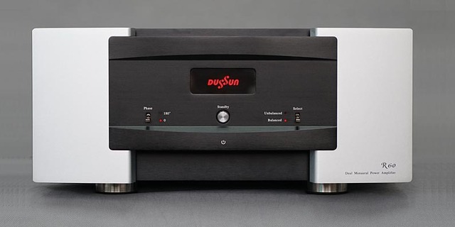 N-012 New DUSSUN R60 Reference Dual Mono Power Amplifier Design Hi-end Top Class Power  AMP No Crossover Distortion 360W+360W