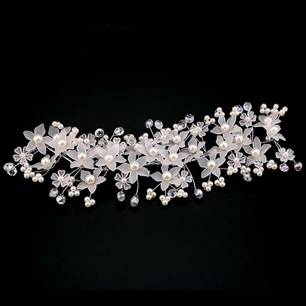 e40cc6ac8 Detail Feedback Questions about Fashion Crystal Bride And Bridesmaid  Handmade Frosted Pearl Decoration Headdress Wedding Dress Accessories M8694  on ...