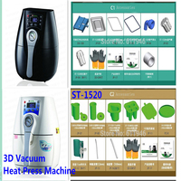 1PC 3D Mini Sublimation Vacuum Machine ST 1520 Heat Press Machine Cover Mug Cups Simplify 110/220/230V