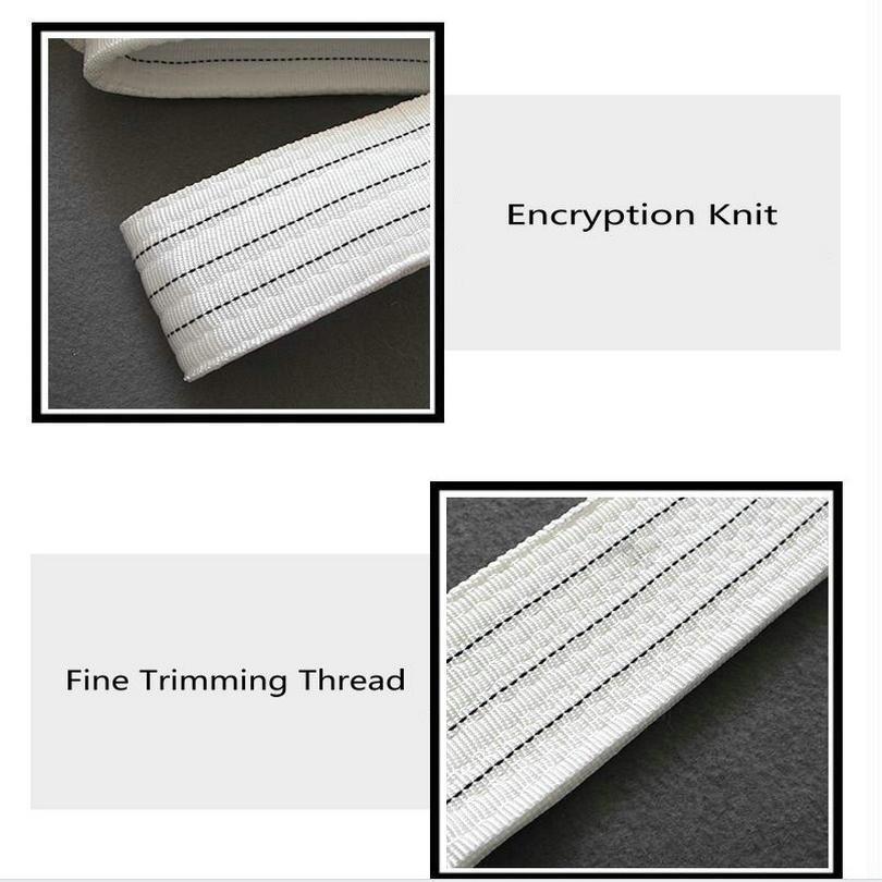 100% Polyester Lifting Flat Webbing Sling Lifting Eye-Eye Belt