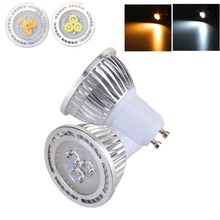 GU10 3W LED Light Bulb 3x 3030SMD LED Lamp Warm White / White Light AC 85-265V