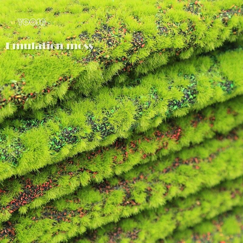 Végétation verte artificielle mousses YOOSA bryophytes intérieur paysages mousse faux pelouses décor maison accessoires plantes artificiales