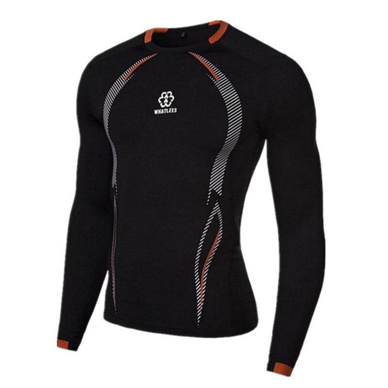 Long Sleeve Sport Shirt Men Running T-shirts Gym Sports Clothing Sport Top Men's Sportswear Rashgard цена 2017
