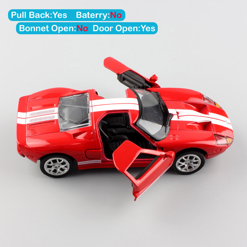 1 36 Scale Ford GT 1 mustang supersport diecast concept coupe auto car model racing vehicle replica toy gift for kid 39 s boy Cheap in Diecasts amp Toy Vehicles from Toys amp Hobbies