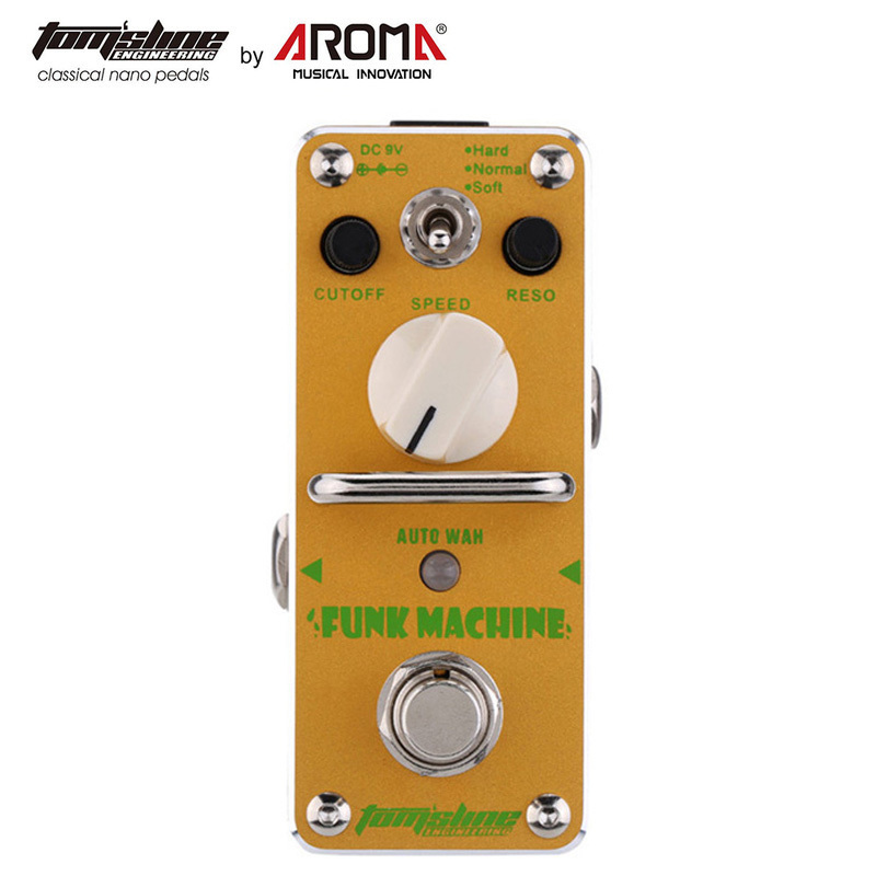 Tomsline Guitar Effect Mini Pedal Single Effects Tuner Chorus Overdrive Booster Fuzz D.I Echo Reverb Wah Equal Compression Pedal