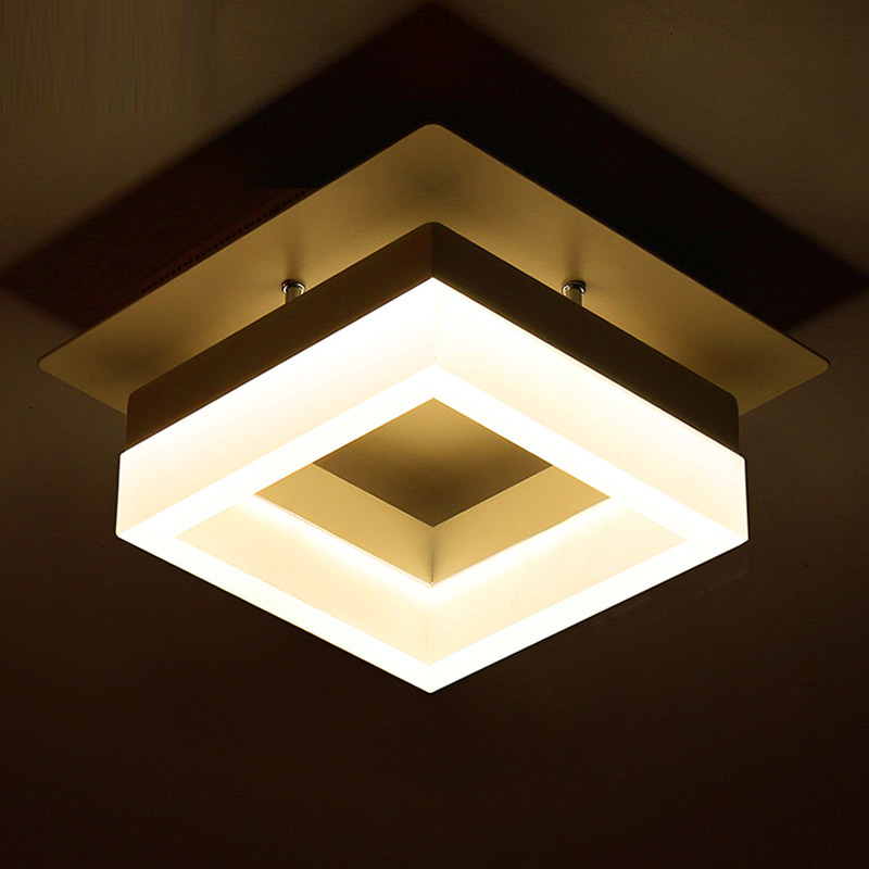 Surface Mounted Led Ceiling Light Project Commercial Professional Lighting Balcony Corridor Porch Lights Dining Lamp In From