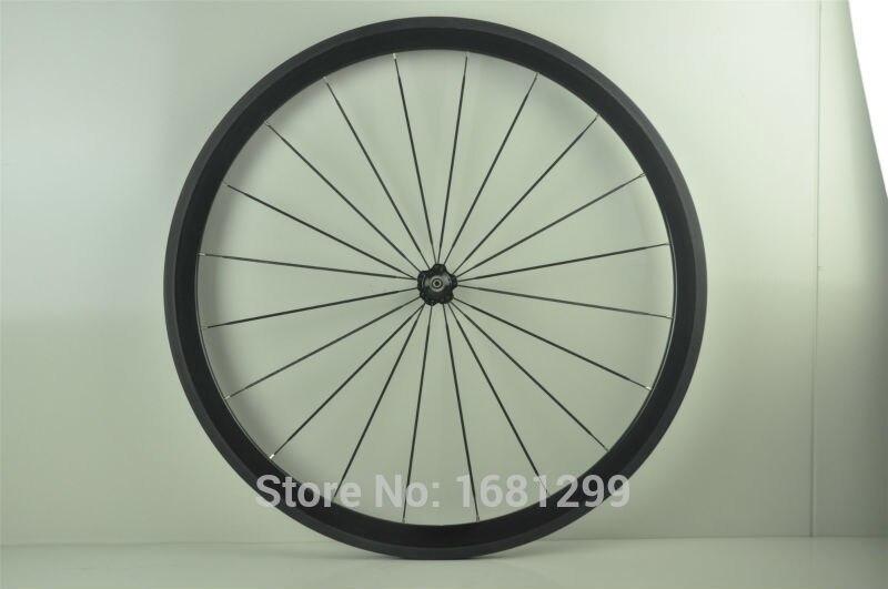 1pcs New 700C 38mm tubular rims Fixed gear Track Road bicycle 3K UD 12K full carbon bike wheelsets aero spokes skewers Free ship