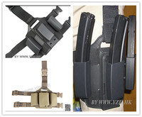 SAFARILAND Style MP5 magazine drop leg magazine pouch But with the black hawk sofa orchid all modules in general
