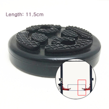 4pcs/lot Balck Color Lift Pad Round Heavy Rubber Pads for Car Truck Accessories