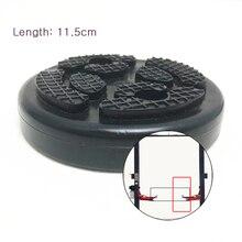 4 шт./лот черный цвет Лифт Pad круглый тяжелые резиновые колодки для автомобиля грузовик аксессуары для лифта