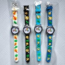 Wholesale promotion !! Cartoon Car Story Kids Watches Students Boys Girls Clock Skates Quartz Children Watch Sports Wristwatches