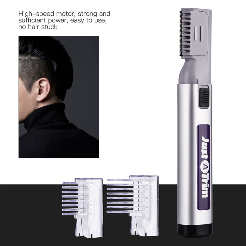 2017 Men Kids Low Noise Beard Trimmer Shaver Shaving Barbeador Hair Cutting Machine Safe Cutter Grooming Styling Tools tondeuse